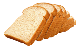 Sliced Wheat Bread PNG