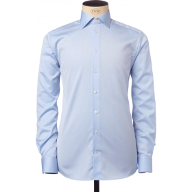 Slim Fit white Dress Shirt PNG