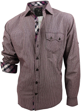 Small Check Shirt PNG