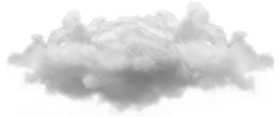 Small Single Cloud PNG