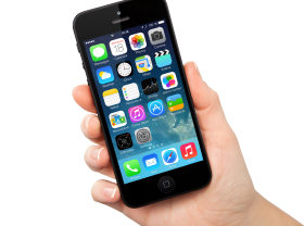 Smartphone In Hand PNG