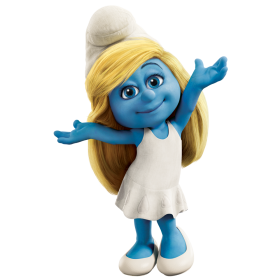 Smurfette PNG
