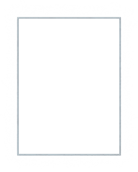 Metal Frame Rectangle PNG