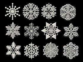 Christmas Snowflake Collection PNG