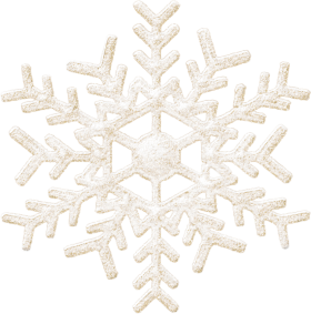 Frozen Christmas Snowflake PNG