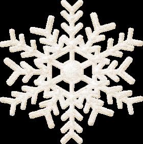 Frozen Christmas Snowflake PNG