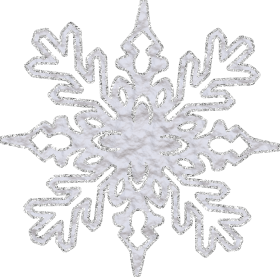 Glitter Snowflake PNG