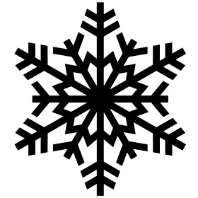 Tiny Snowy Snowflake PNG