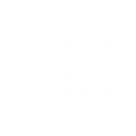 White Snowy Snowflake PNG