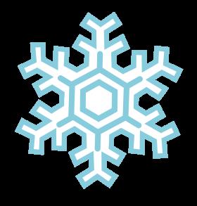 Frozen Snowflake PNG