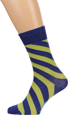 Socks Blue Yellow PNG
