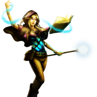 Sorceress Lux Skin PNG
