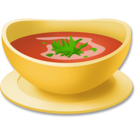Tomato Soup Clipart PNG