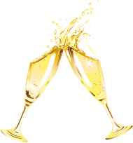 Sparkling Wine In A Glas PNG