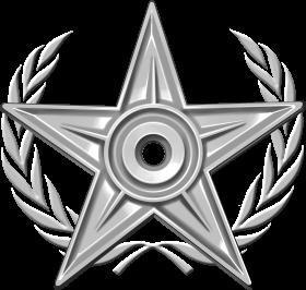 Special Silver Barnstar PNG