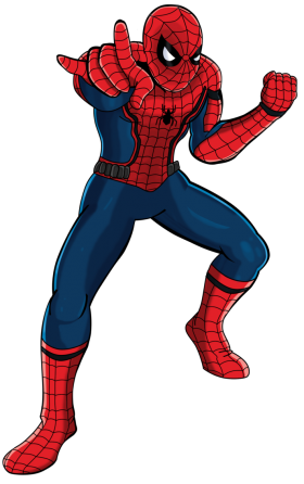 Spectacular SpiderMan PNG
