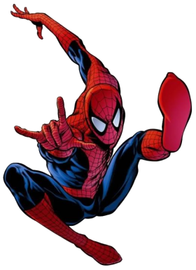 Spiderman Comic PNG