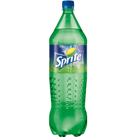 1.5 L Sprite in a Plastic Bottle PNG