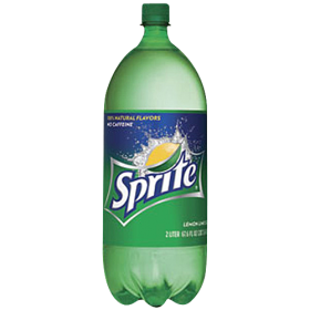 Sprite in a Plastic Bottle PNG
