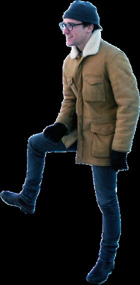 Standing Winter PNG