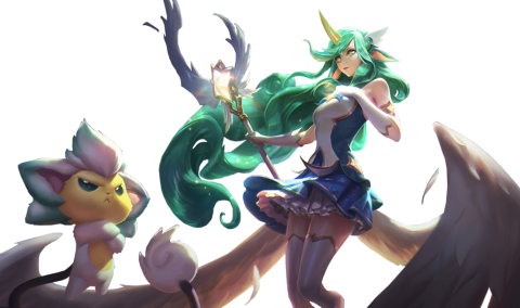 Star Guardian Soraka skin PNG