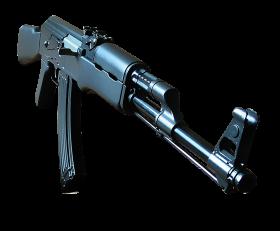 Steel Ak-47 PNG