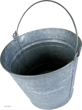 Steel Bucket PNG