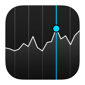 Stocks Icon iOS 7 PNG