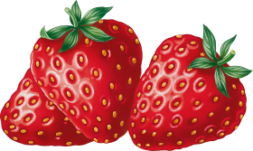 Strawberries PNG