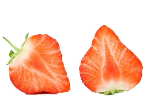 Strawberry Halved PNG