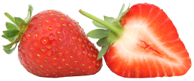 Strawberry Red PNG