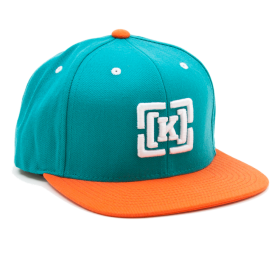 Stylish Cap With White K Logo PNG