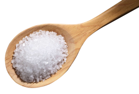 Wodden Spoon with Sugar PNG