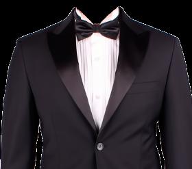 Suits black PNG