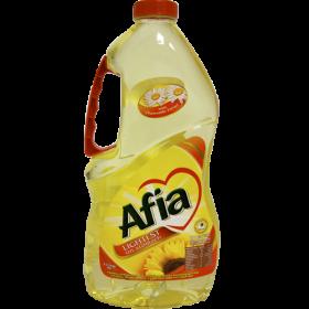 Afia Sunflower Oil PNG
