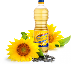 Russian Oil with Sunflower PNG