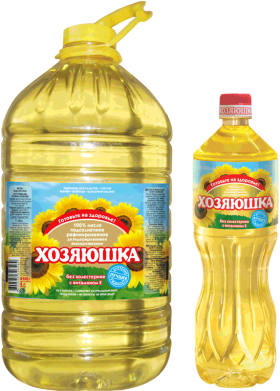 Russian Sunflower Oil PNG