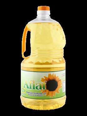 Afiat Sunflower Oil Canister PNG
