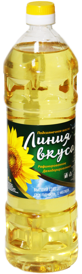 Sunflower Oil Bottle PNG