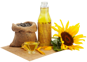 Sunflower Oil with herbs PNG