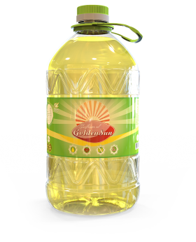 Sunflower Oil Canister PNG