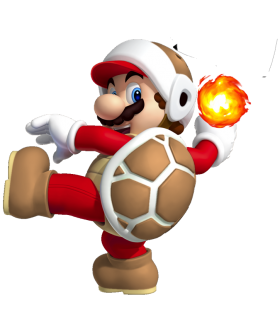 Super Mario Fire PNG