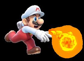 Super Mario Fire PNG