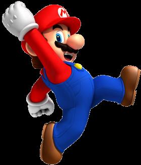 Super Mario JUmping PNG