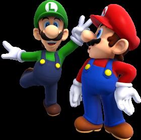 Super Mario & Luigi PNG