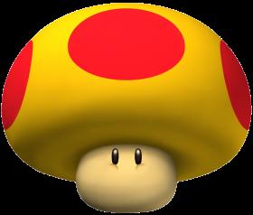 Super Mario  Mega Mushroom PNG