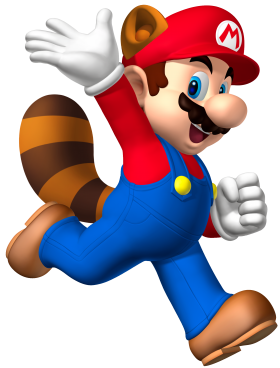 Super Mario  Raccoon PNG