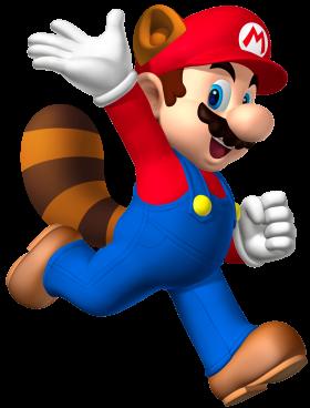 Super Mario  Raccoon PNG
