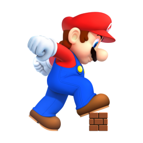 Super Mario Running PNG