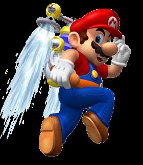 Super Mario  Sunshine PNG
